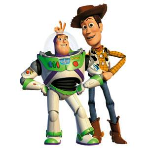 Toy Story 1, 2 and 3 are the Best Children Animated Movies Ever !